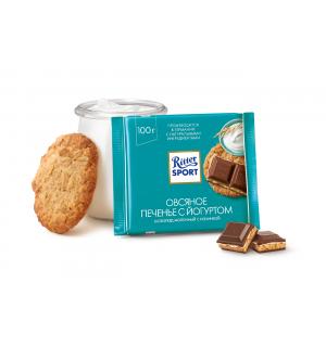 Шоколад Ritter Sport Овсяное печенье с йогуртом 100г