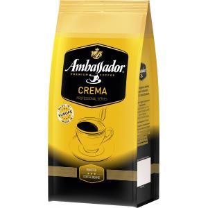 Кофе зерновой Ambassador Crema 1кг