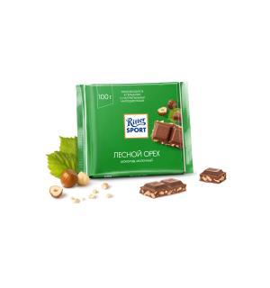 Шоколад Ritter Sport Лесной орех 100г