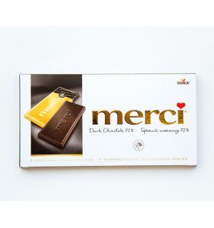 Шоколад MERCI 100г горький