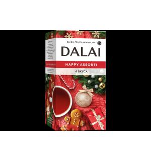 Чайный набор Dalai Happy Assorti 40г (24пак.)