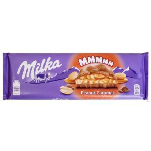 Шоколад Milka Peanut Caramel 276г