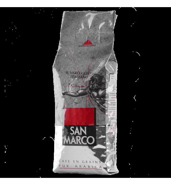 Кофе зерновой San Marco 500г
