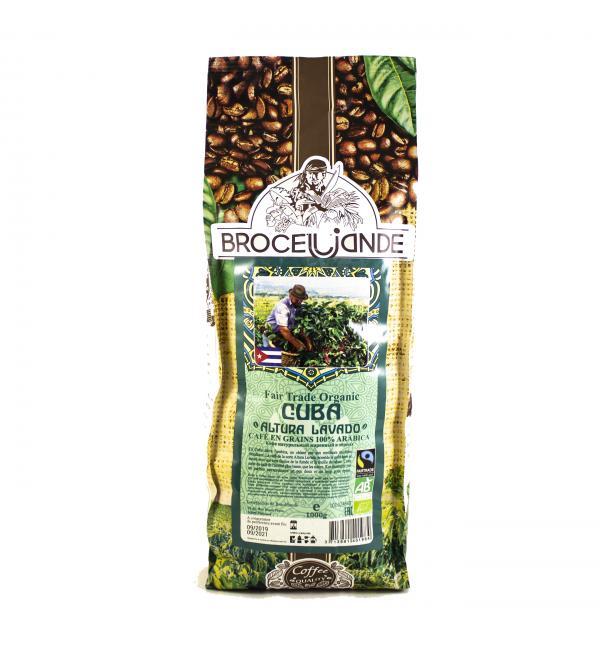Кофе зерновой Brocelliande Cuba 1кг