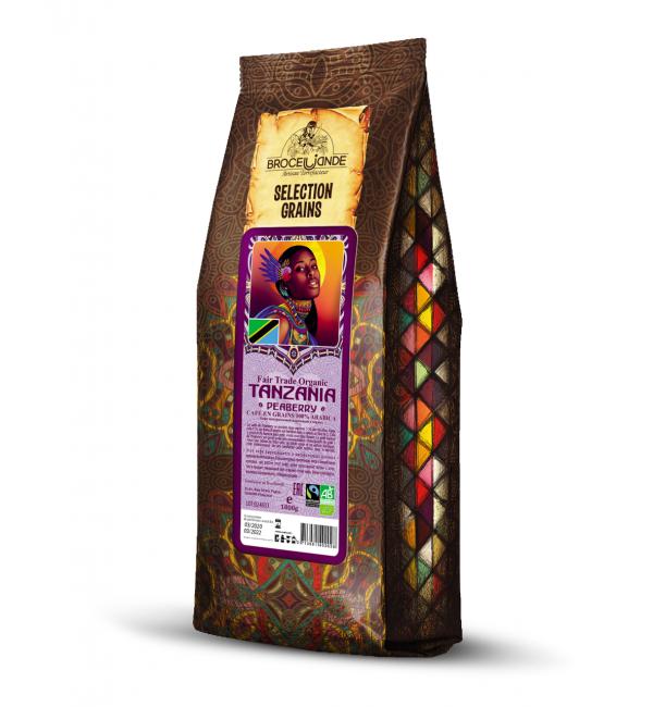 Кофе зерновой Brocelliande Tanzania 1кг