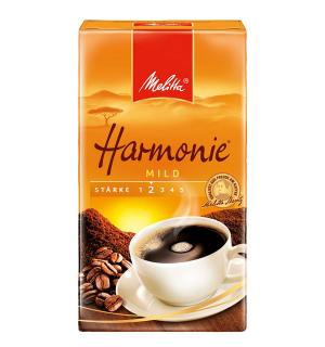 Кофе молотый Melitta Kaffee Harmonie Entkoffeiniert 500г
