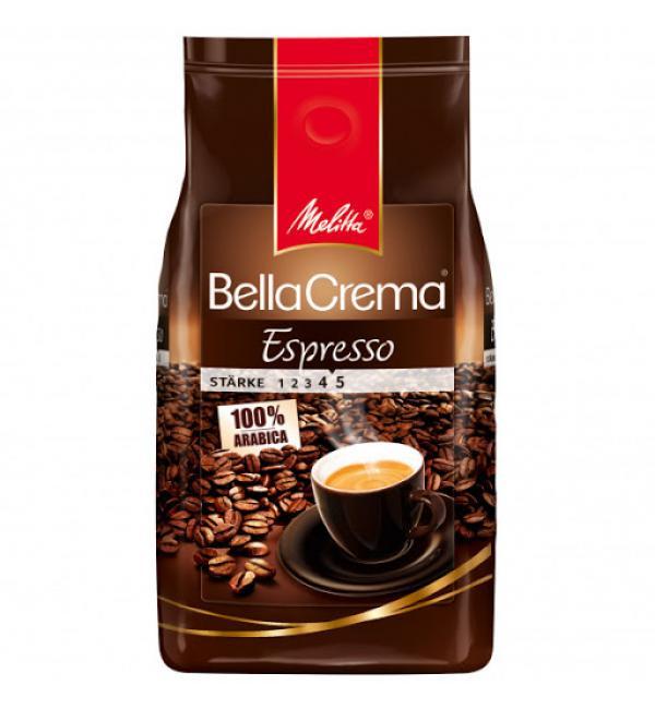 Кофе зерновой Melitta Bella Crema Espresso 1кг