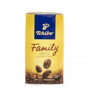 Кофе молотый Tchibo Family 500г