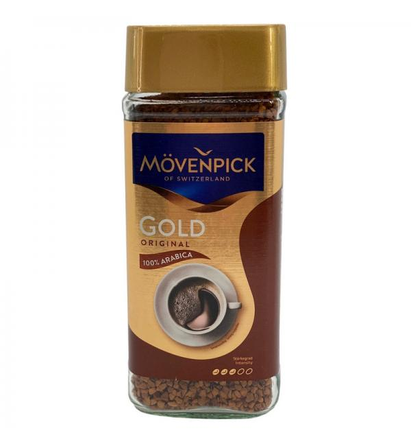 Кофе растворимый Movenpick Gold Original 200г