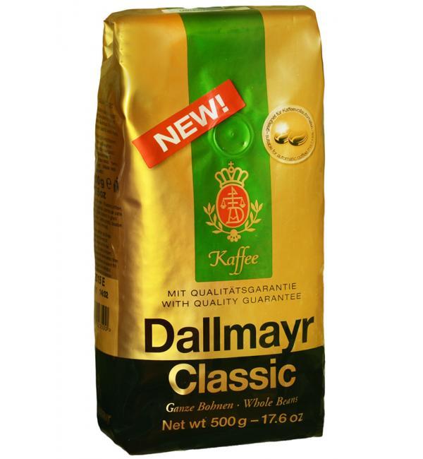 Кофе зерновой Dallmayr Classic 500г