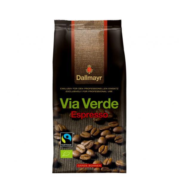 Кофе зерновой Dallmayr Via Verde Espresso BIO 1кг