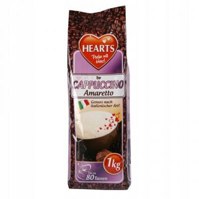 Растворимый капучино Hearts Instant Cappuccino Amaretto 1кг