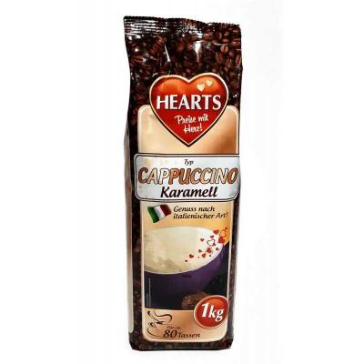 Растворимый капучино Hearts Instant Cappuccino Karamell 1кг