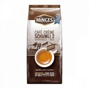 Кофе зерновой Minges Café Crème Schumli 2 1кг