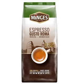 Кофе зерновой Minges Espresso Gusto Roma 1кг