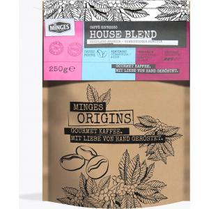 Кофе зерновой Minges House Blend 250г