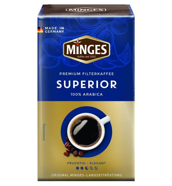 Кофе молотый Minges Superior 250г