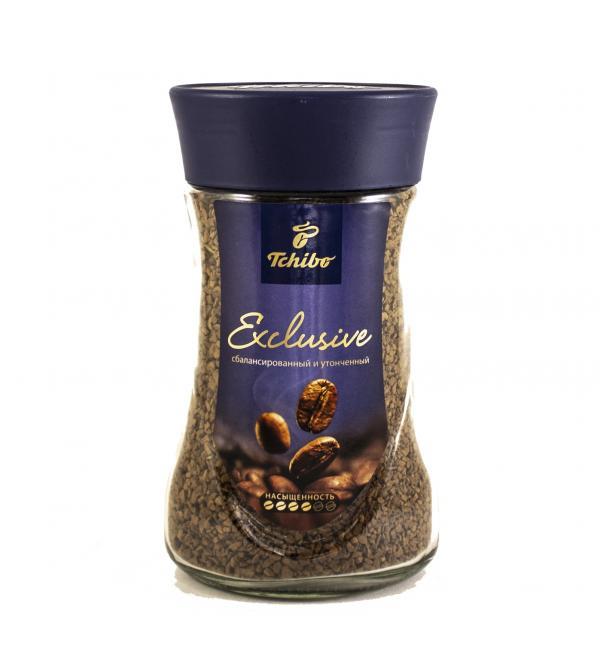 Кофе растворимый Tchibo Exlusive 190г