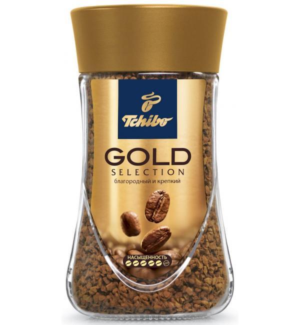 Кофе растворимый Tchibo Gold 190г
