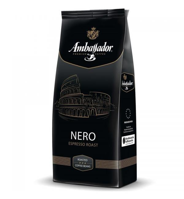 Кофе зерновой Ambassador Nero 1кг