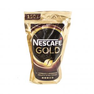 Кофе растворимый Nescafe Gold 150г