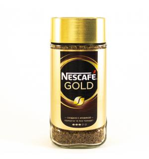 Кофе растворимый Nescafe Gold 190г