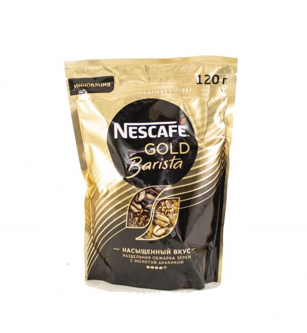 Кофе растворимый Nescafe Gold Barista 120г