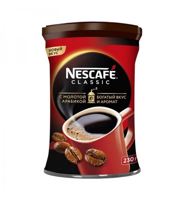 Кофе растворимый Nescafe Classic 230г