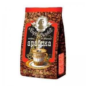 Кофе зерновой Петр Великий 500г