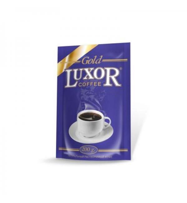 Кофе растворимый Luxor Gold 200г