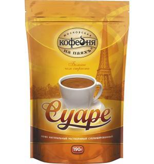 Кофе растворимый Московская кофейня на Паях Суаре 190г