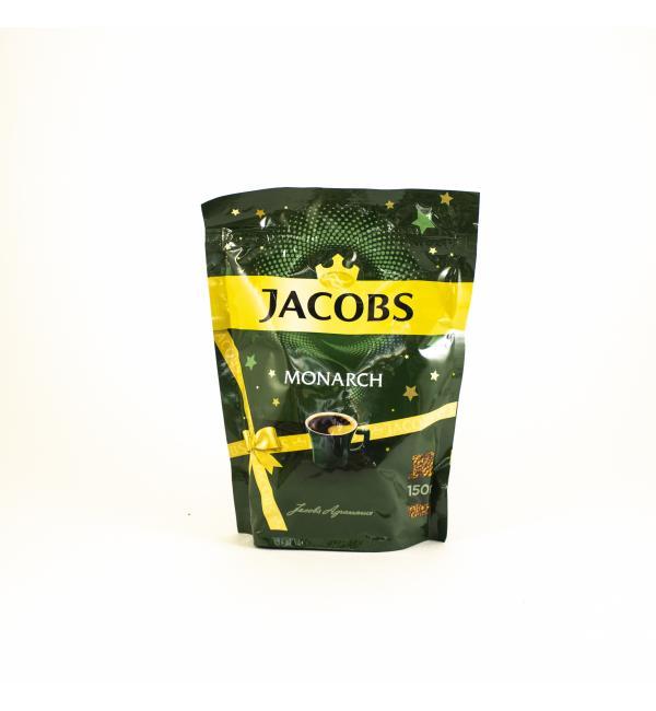 Кофе растворимый Jacobs Monarch 130г