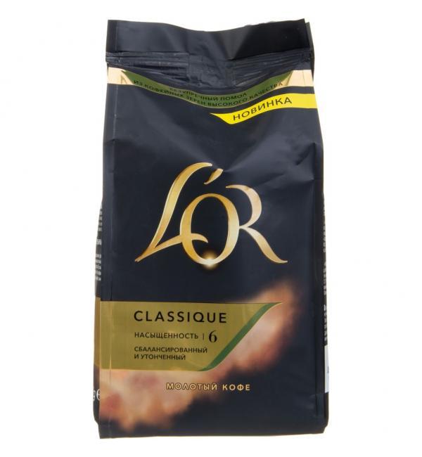 Кофе молотый LOR Classique 230г
