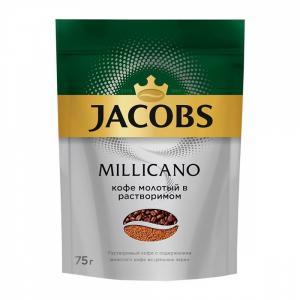 Кофе растворимый Jacobs Millicano 75г