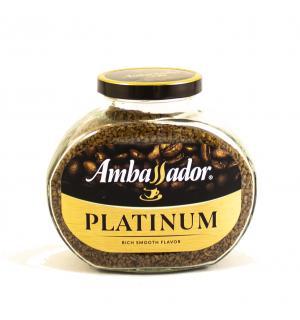 Кофе растворимый Ambassador Platinum 190г