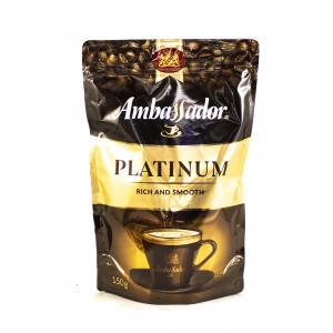 Кофе растворимый Ambassador Platinum 150г