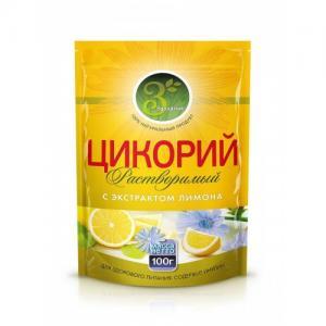 Цикорий растворимый Здравник 85г с экстрактом лимона