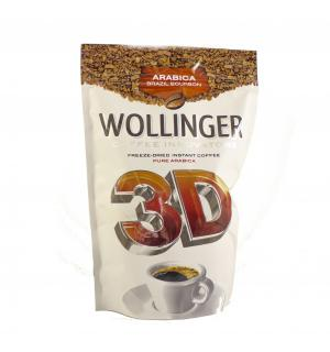 Кофе растворимый Wollinger 3D 190г