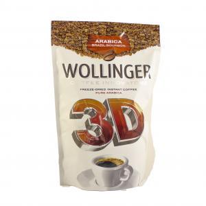 Кофе растворимый Wollinger 3D 285г