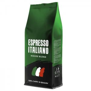 Кофе зерновой ESPRESSO ITALIANO HOUSE BLEND Бразилия 1кг