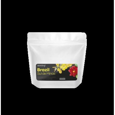 Кофе зерновой SEADOG COFFEE Brazil Sul De Minas Dark Roast 250г