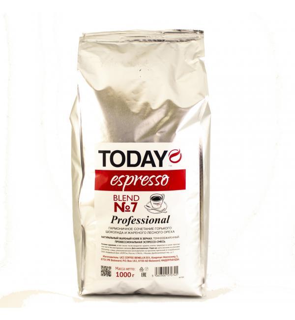 Кофе зерновой Today №7 Espresso 1кг