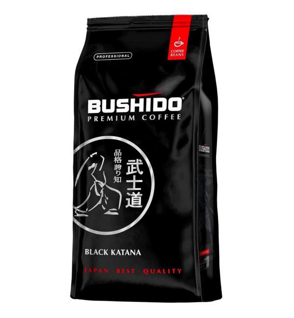 Кофе зерновой Bushido Black Katana 1000г