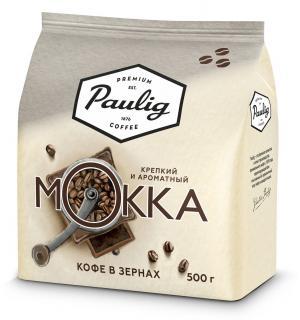 Кофе зерновой Paulig Mokka 500г