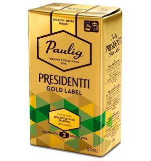 Кофе молотый Paulig Presidentti Gold Label 250г