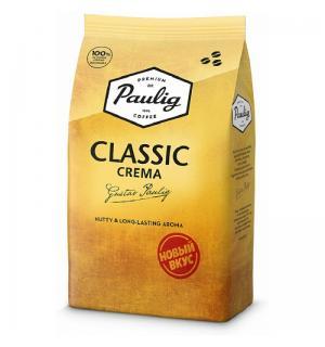Кофе зерновой Paulig Classic Crema 1кг