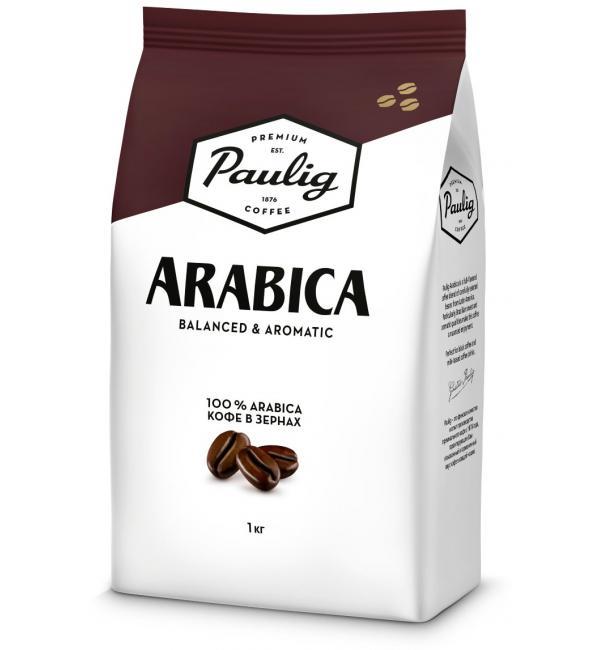 Кофе зерновой Paulig Arabica 1кг