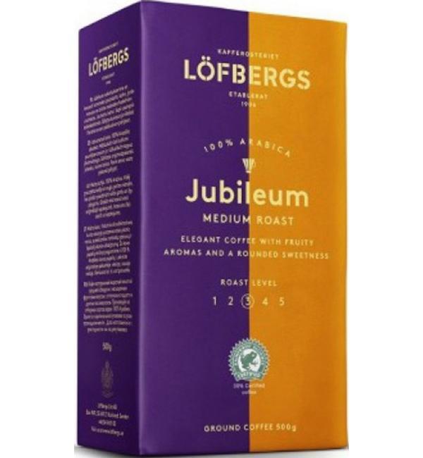 Кофе молотый Lofbergs Jubileum 500г
