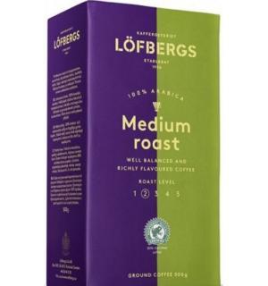 Кофе молотый Lofbergs Medium Roast 500г