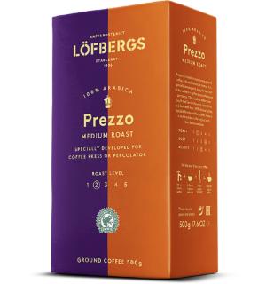 Кофе молотый Lofbergs Prezzo Medium Roast 500 г